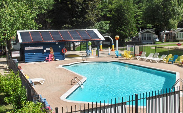 Cedar Beach Solar Pool Heating System 2
