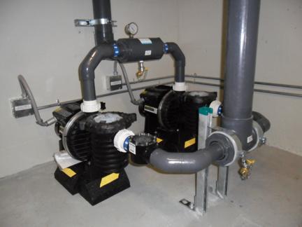 Solar system pumps - Windsor 2010