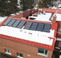 Solar Hot Water - 8 ThermoDynamics Collectors Chesley Hospital, Chesley Ontario